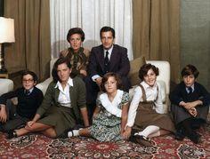 La familia del presidente Adolfo Suarez