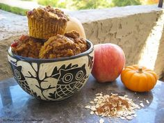Pumpkin-Apple Harvest Muffins