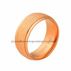 7mm stainless steel band ring on sale-SSRGG831267
