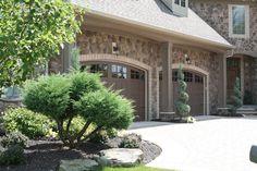 Love the stone and window trim