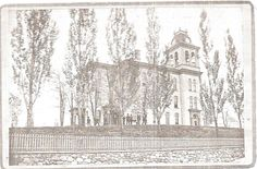 Central High School, Ransom & Lyon - 1868