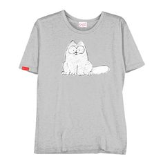 Simon's Cat 'Grey' T-Shirt Front
