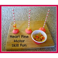 Heart Themed Fine Motor Skill Activity  #Valentine's Day Activities for #Kids