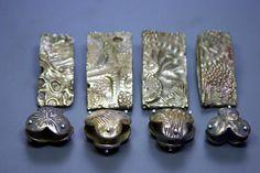 Goldie Bronze Metal Clay - Bead Fest - Gail Crosman Moore
