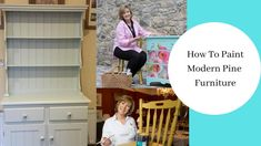 This video shows you how to paint pine furniture. Pre finished pine that you buy in the local furniture store and has now gone a bit orange. Easy transform i. Local Furniture Stores, Pine Furniture, Shabby, Tutorials, Modern, Painting, Trendy Tree, Painting Art, Paintings