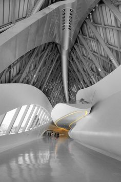 The Bridge Pavilion (Spanish: Pabellón Puente) is a building designed by British-Iraqi architect Zaha Hadid that was constructed for the Expo 2008 in Zaragoza (Spain)