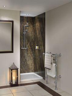 Beautiful Alternative Shower Wall Materials