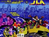 JLA - World Without Grown-Ups 1 2 complete set ---> shipping is $0.01!!!