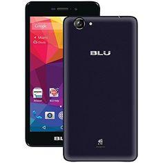 "BLU Life XL 4G 5.5"" 8GB 13MP Dual SIM Unlocked Android Smartphone - Dark Blue"