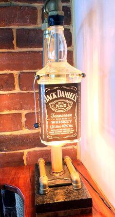 Jack on the rocks lamp Rock Lamp, Jack Daniels, The Rock, Rocks, Stone, Batu, Stones, Rock