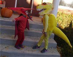 dinosaurs costumes.
