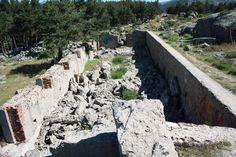 Publicamos un barracón en la posición La Sevillana. #historia #turismo #guerracivil http://www.rutasconhistoria.es/loc/barracon-de-la-posicion-sevillana
