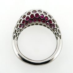 ISLET RING | ROUND | STERLING SILVER | PINK STONES dougbucci.bigcartel.com