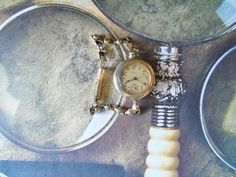 Vintage Womens Pocket Watch Wrist Watch by Elgin by Spiritracer