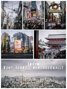 Tokio Reisebericht über unsere 5 verrückten Tage in der japanischen Riesenmetropole. Japan, Bunt, Times Square, Hiking, Explore, Travel, Girl Interrupted, Travel Report, Viajes