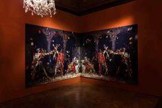 Rashid Rana War Within II , 2013-14 (serie Transpositions, 2013-15) C print + DIASEC ©Mark Blower