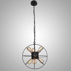UNITARY BRAND Vintage Metal Shade Round Hanging Ceiling Chandelier Max. 360W With 6 Lights Painted Finish Unitary http://www.amazon.com/dp/B010B6MMJ4/ref=cm_sw_r_pi_dp_21dDwb1M65H20