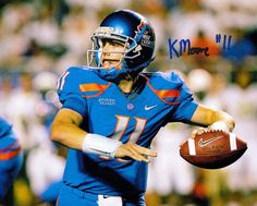 14ab388c2 One of the best quarterbacks in the history of college football Number 11  Kellen Moore quarterback for the Boise State Broncos 2008