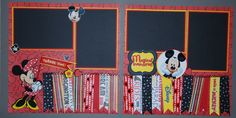 disney scrapbook layouts - Bing Images