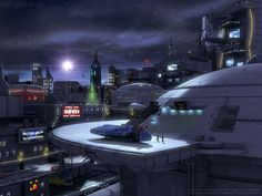 SFM X-mas - Sci-fi City by Enterprise-E.deviantart.com on @deviantART