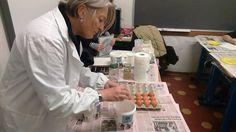1/2/2017. Scuolartigiana. Lezioni sulla Pittura con Luisa Bisaccioni