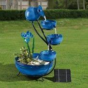 Solar-Powered Fountain