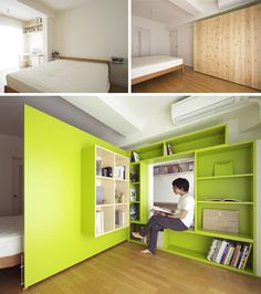 Room divider Idea for Small Room #4