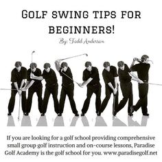"Golf swing tips for beginners! Learn more on Todd's ""Fix Your Swing Fundamentals."" http://paradisegolfacademy.tumblr.com/post/139867412063/golf-swing-tips-for-beginners-learn-more-on"