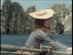 'POLDARK' (1975-77): Demelza fishing while pregnant.