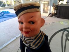 Nora Wellings Sailor Cloth Doll 11'' tall by Blissfulcollectables on Etsy