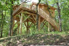 Cabane luxe spa privatif dans arbres en Aquitaine Hébergements insolites Lot-et-Garonne - leboncoin.fr