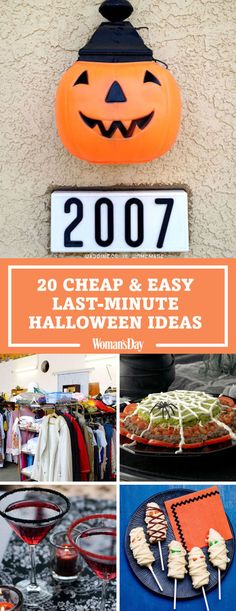 Throw an Epic Halloween Party With These 46 Food and Decor Ideas 26 Cheap Halloween Party Ideas for Adults — DIY Halloween Party Decor Halloween Birthday Decorations, Halloween School Treats, Creepy Halloween Costumes, Spooky Halloween, Trendy Halloween, Adult Halloween Party, Halloween Season, Halloween Ideas, Last Minute