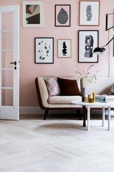 Pale pink walls by lourdes