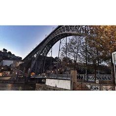 #portugal #porto #douro #amazing #architecture #bridge #whenthesungoesdown #picoftheday #shootoftheday #view by bboyfran