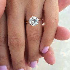 "@frankandmia's photo: ""Beautiful; congrats on getting engaged @_karaleigh_t! | #frankandmia #weddings #engaged #engagementring #diamond #ringshot #love """