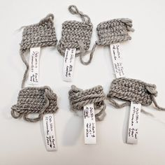 Nalbinding Stitch Connection Samples