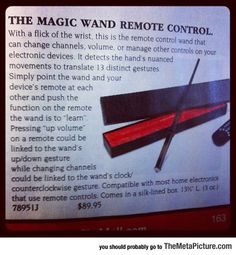 Well, I'm Never Using A Regular Remote Control Again