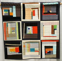 Title: Oreos and Creamsicles Made and Quilted by Rebecca Jubie Seattle, Washington, USA Seattle Modern Quilt Guild
