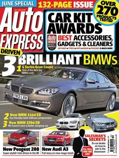 A magazine I would buy regularly...Auto Express.