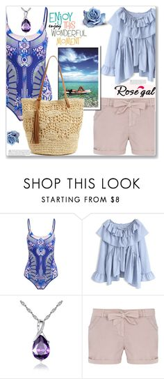 """One piece swimwear"" by ucetmal-1 ❤ liked on Polyvore featuring Chicwish, WithChic, Dorothy Perkins, Le Specs and Nordstrom"