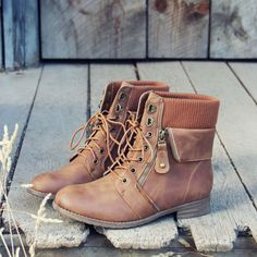 Adorable Fall Boots from the Spool No. 72 website! Definitely will be back for a visit... The Big Sur Sweater Boots, Sweet & Rugged boots from Spool No.72 | Spool No.72