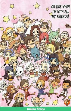 Fairy tail friends