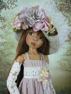 Spring outfit for Kaye Wiggs MSD doll Layla by MonsHauteCouture