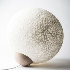 YarnBomb (large floorlamp) produced by Vasanthi, launched august 2013 Design by Tine Mouritsen. Visit www.vasanthi.dk