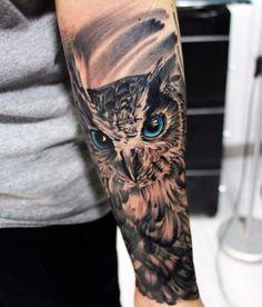 "Képtalálat a következőre: ""predator and prey friendship tattoos"" Daddy Tattoos, Wolf Tattoos, Future Tattoos, Animal Tattoos, Life Tattoos, Body Art Tattoos, Owl Forearm Tattoo, Mens Owl Tattoo, Bulldogge Tattoo"