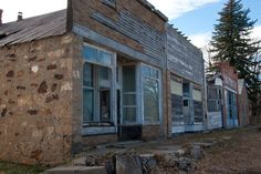 THE 50 STRANGEST ABANDONED PLACES BY STATE 31. New Mexico - Folsom Among the plains of New Mexico, a tiny, abandoned section of town sits collecting dust. The town of Folsom, and its historic hotel, was once a place frequented in the days of the Old West. Today, the buildings are still preserved, but definitely ghostly.