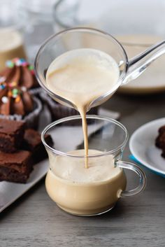 """Coffee Nog Recipe – celebrate the holidays with this festive coffee-infused """"eggnog."""" To find this recipe and more Ninja Coffee Bar™ recipes, go  here: http://www.ninjakitchen.com/recipes/search/96/ninja-coffee-bar/"""