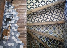 carrelage on pinterest tile ceramic design and handmade tiles. Black Bedroom Furniture Sets. Home Design Ideas