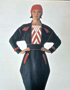Dress re-created in 1985 from the Russian Constructivism period of the Sonia Delaunay, 20s Fashion, Vintage Fashion, What Is Femininity, Russian Constructivism, Russian Avant Garde, Geometric Fashion, Art Abstrait, Costume Design