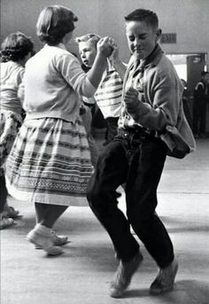 jitterbugging , dance of the 50s